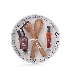 La Cucina - Pasta bowl, servers and oil set