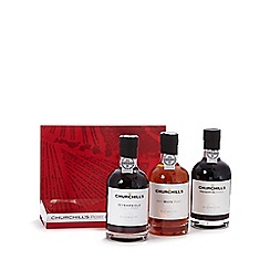 Debenhams - Churchill's port experience set