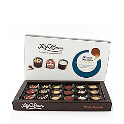 Debenhams - Pink glitter shoe bottle holder and cava gift set