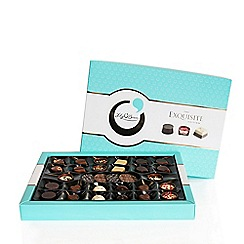 Debenhams - Diamante flutes with cava