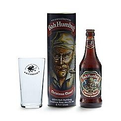 Debenhams - Bah Humbug' beer and pint glass tube