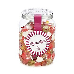 Sweet Shop - Rings and hearts 1kg sweetie jar