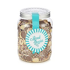 Sweet Shop - Mixed jazzies 850g sweetie jar