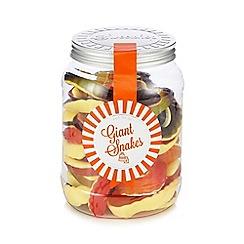 Sweet Shop - Giant snakes 800g sweetie jar