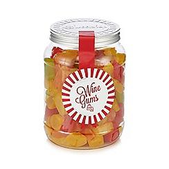 Sweet Shop - Wine gums 1.05kg sweetie jar