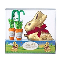 Lindt - Gold Bunny and Carrots 140g