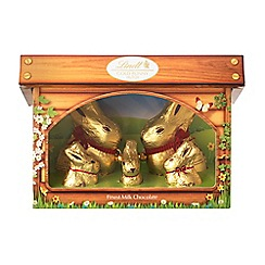 Lindt - Gold Bunny and Family Hutch 130g