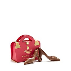 Charbonnel et Walker - Handbag & Heels milk chocolate shoes