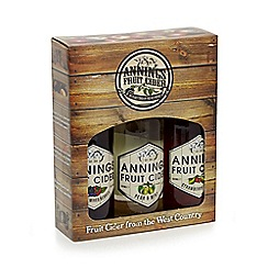 Lyme Bay - Annings fruit cider in a gift box