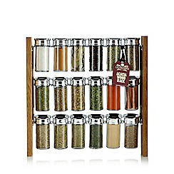 La Cucina - Eighteen piece spice rack
