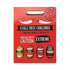 Debenhams - Set of four chilli beer challenge beers