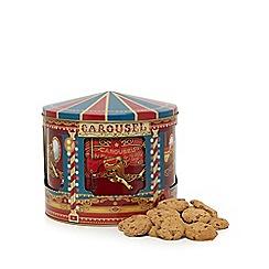 Debenhams - Musical carousel tin with chocolate chip cookies