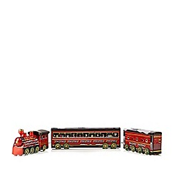 Debenhams - The cookie train with cookies and biscuits