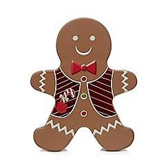 Debenhams - Gingerbread man tin gift set