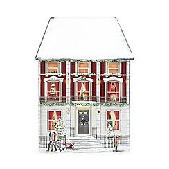 Debenhams - Light up musical house biscuit tin with mini chocolate chip cookies   300g