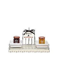 Mrs Bridges - Toast rack with marmalade and preserve