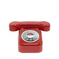Debenhams - Red telephone shaped biscuit tin with Danish cookies 300g