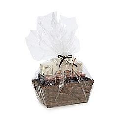 Mrs Bridges - Mrs Bridges biscuits, tea and preserve selection in a hamper