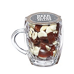 Debenhams - Pint glass with jelly sweets set