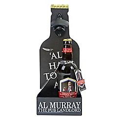 Debenhams - Al Murray bottle opener set with beer