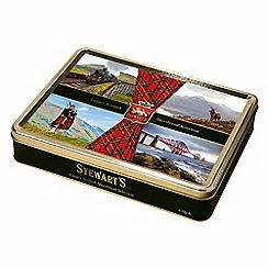 Stewarts - Tartan Coll. Scottish Collection Tin