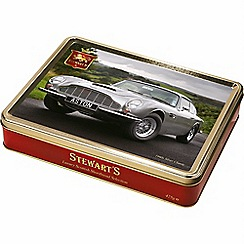 Stewarts - 1960s Silver Classic Tin