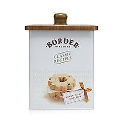 Border - Luxury Biscuit Barrel 600g