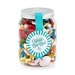 Sweet Shop - 'Worlds Best Dad' pick 'n' mix jar