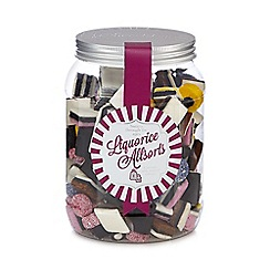 Sweet Shop - Jar of liquorice allsorts
