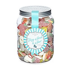 Sweet Shop - Jar of fizzy sweet and sour sweets