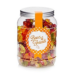 Sweet Shop - Jar of bears and friends