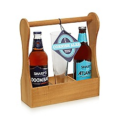 Debenhams - 'Sharp's' ale and glass gift set