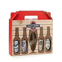 Debenhams - Selection of craft beers with a beer glass