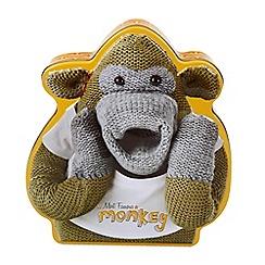 Debenhams - Monkey shaped biscuit tin with Danish biscuits - 300g