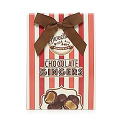 Sweet Shop - Pack of dark chocolate ginger pieces