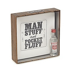 Debenhams - Ceramic tray with Smirnoff vodka