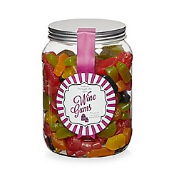Sweet Shop - Jar of wine gums