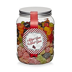Sweet Shop - Jar of midget gems & hard gums