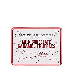 Debenhams - Milk chocolate truffles with salted caramel filing