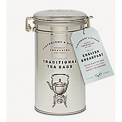 Debenhams - English Breakfast Tea Bags in Caddy