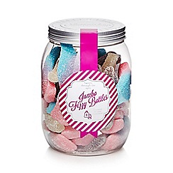 Sweet Shop - Jar of jumbo fizzy bottles