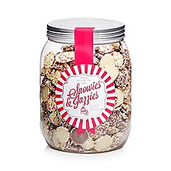 Sweet Shop - Jar of snowies and jazzies