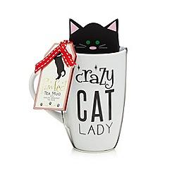 Debenhams - Cat mug and tea bags