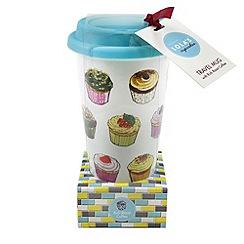 Lola's Cupcakes - Travel mug with rich roast ground coffee - 30g