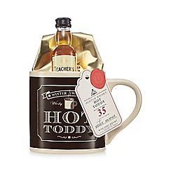 Debenhams - Teacher's whiskey mug gift set