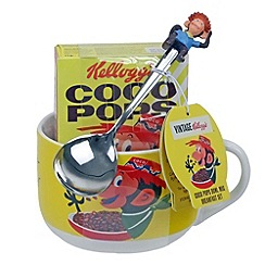 Kelloggs - Coco Pops bowl mug and spoon with Coco Pops - 35g