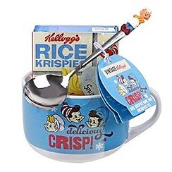 Kelloggs - Rice Krispies bowl mug and spoon with Rice Krispies - 22g