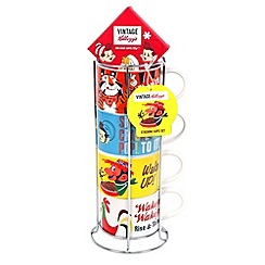 Kelloggs - Stacking cups set with rich roast coffee - 57g