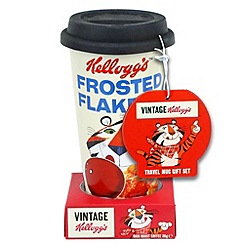 Kelloggs - Frosties travel mug with rich roast coffee - 30g