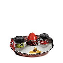 Debenhams - Ceramic sombrero bowl and dipping dish with salsa